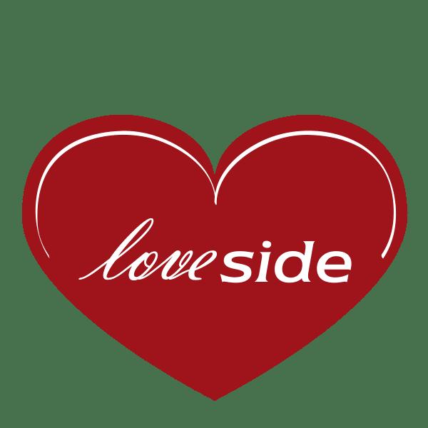 Logo Loveside, Hochzeitsmesse
